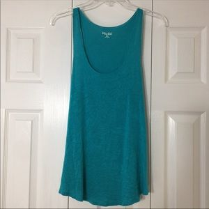 Mudd Turquoise Top XL